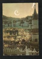 Saudi Arabia Holy Mosque Ka´aba Macca  Picture Eid Greeting Card - Saoedi-Arabië