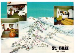 """BE1306  St. Grèè Di Viola (Cuneo)  -Alta Valle Mongia - Interni Dell' Hotel """"Le Grange"""" - Cuneo"""