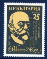 BULGARIA - 1982 ROBERT KOCH ANNIVERSARY SG 3067 FINE MNH ** - Disease