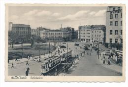 Halle   Ansichtskarte Aus DDR Zeiten ( Bc2635 )  Siehe Bild - Halle (Saale)