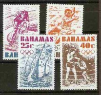 BAHAMAS  - 1976 Montreal Olympics set of 4 MNH **   SG 478-81  Sc 388-91