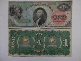 BILLET ESPAGNE - FANTAISIE - PARC D'ATTRACTIONS - PORT AVENTURA - UNIVERSAL STUDIOS - 1 $ U.S. - WASHINGTON - [ 8] Specimen