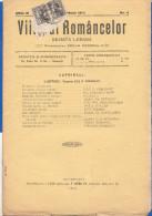 Rumänien; Wrapper 1914; Michel 220; Revista Viitorul Romancelor Nr. 4; 18 Seiten - 1881-1918: Charles I