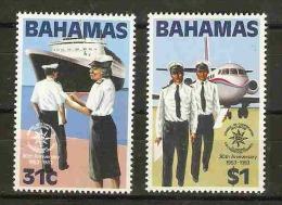 Bahanas  - 1983 Customs Co-operation Council set of 2 MNH **   SG 649-50  Sc 536-7
