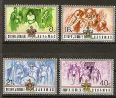Bahamas  - 1977 Silver Jubilee set of 4 MNH **   SG 488-91  Sc 402-5