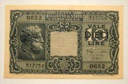 "10 Lire "" Giove ""  D.M.  Bolaffi / Cavallaro / GiovincoB.I. 88   FDS - Italia – 10 Lire"