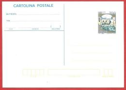 ITALIA REPUBBLICA - 1992 - CARTOLINA POSTALE NUOVA - Castelli - Castello Di Carini - £ 700 - S. CP103 - Stamped Stationery
