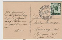 III-569/ Sonderentwertung Nürnberg 20.4.39. Führer Geburtstag - Allemagne