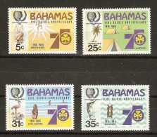 Bahamas  - 1985 Girl Guides (Youth Year) set of 4 MNH **   SG 703-6  Sc 572-5