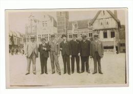 Postkaart - Plaats, place - Gemeentehuis , H�tel de Ville ? (1230)sf26