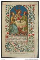 IMAGE PIEUSE Litho SOUVENIR D´ORNINATION 19 MAI 1883 CATHEDRALE DE SAINT BAVON  HOLY CARD / SANTINO / ANDACHTSBILD - Andachtsbilder