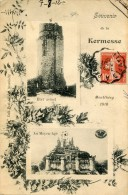 Essonne SOUVENIR DE LA KERMESSE DE MONTLHERY 1910   - G - Montlhery