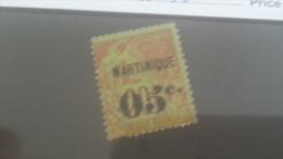 LOT 227710 TIMBRE DE COLONIE MARTINIQUE NEUF(*) N�11 VALEUR 32 EUROS