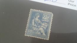 LOT 227715 TIMBRE DE FRANCE NEUF* N�118 VALEUR 160 EUROS