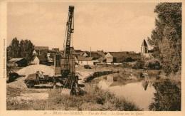 BRAY-sur-SOMME - Vue Du Port - La Grue Sur Les Quais - - Bray Sur Somme
