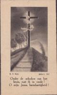 Doodsprentje (6318)  Bunsbeek - Stock Houtem - Hoeleden - Groot Bijgaarden - VANDEPUT / DEPRE 1883 - 1946 - Images Religieuses