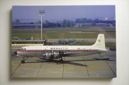 AIRNAUTIC   DC 6 B   F BJKZ   LE BOURGET AIRPORT      COLLECTION VILAIN N° 808 - 1946-....: Moderne