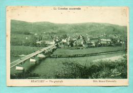 CPA  FRANCE  19  -  BEAULIEU  -  Vue Générale  ( Luc Maison Universelle ) - Frankreich