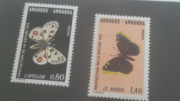 LOT 227819 TIMBRE DE ANDORRE NEUF** N�258/259