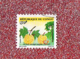 """REP.  DU  CONGO  -- L ' IKAMI    --  """"""""  50 F. **  --  POSTE  2002  --  BEG - Used"""