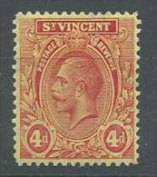 140017840  ST  VINCENT  YVERT   Nº  90  */MH  (MARQUILLADO) - St.Vincent (...-1979)