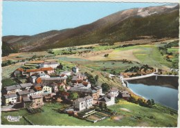 Cpsm    66 Pyrenees Orientales Puyvalador  Vue Aerienne Du Village Et Du Barrage - France