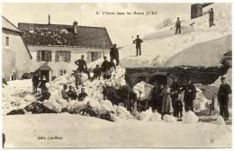 XF.131.  L´hiver Dans Les Monts Jura - Non Classés