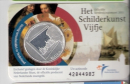 NEDERLAND 5 EURO 2011 HET SCHILDERKUNSTVIJFJE IN COINCARD - [ 3] 1815-… : Royaume Des Pays-Bas