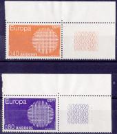 12584# ANDORRE EUROPA 1970 ** Cote 40 Euros - French Andorra