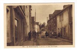 LE GRAND FOUGERAY  RUE SAINT ROCH - France
