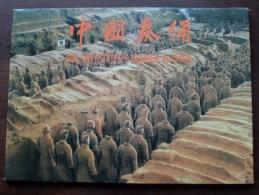 The QIN POTTERY FIGURES In CHINA Museum Of Terra-Cotta Warriors Horses Of Qin Tomb ( Zie Foto´s Voor Details ) !! - Chine