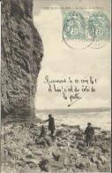 CPA De VIERVILLE SUR MER - La Pointe De La Percée. - France