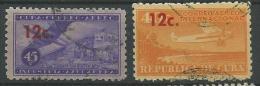 140017911  CUBA  YVERT    Nº 201/2 - Aéreo