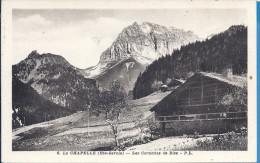 -- 74 --  LA CHAPELLE -- LES CORNETTES DE BISE -- - La Chapelle-d'Abondance