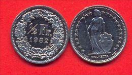 Switzerland Swiss 50 Rappen 1982 XF (1/2 Franc) - Switzerland