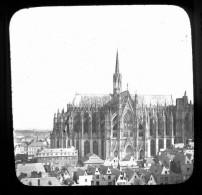 V1391 - ALLEMAGNE - COLOGNE - La Cathédrale - Plaque Photo Originale à Ne Pas Manquer - Plaques De Verre