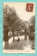 CPA  FRANCE  77  -  OZOUER-LE-VOULGIS  -  L'Yerres à Foussard  ( Raveaux 1930 ) - Frankrijk