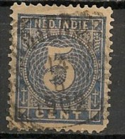 Timbres - Pays-Bas - Indes Néerlandaises - 1883-1890 - 5 Cent. - - Netherlands Indies