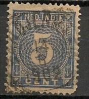 Timbres - Pays-Bas - Indes Néerlandaises - 1883-1890 - 5 Cent. -