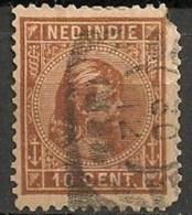 Timbres - Pays-Bas - Indes Néerlandaises - 1883-1890 - 10 Cent. -