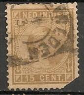 Timbres - Pays-Bas - Indes Néerlandaises - 1883-1890 - 15 Cent. -