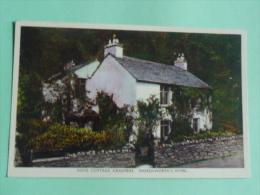 GRASMERE, Dove Cottage, Wordsworth's Home... - England
