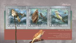 gu14201a Guinea 2014 Birds s/s