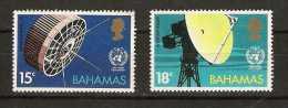 Bahamas  - 1973 Weather radar and satellite set of 2 MNH **   SG 410-1  Sc 346-7