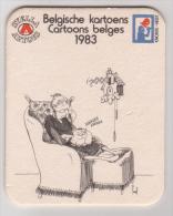 Stella Artois Belgien Belges Cartoons 1983 , Koekoek - Bierdeckel
