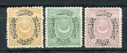 Türkei Nr.27/9         (*)   No Gum       (142) - 1858-1921 Empire Ottoman