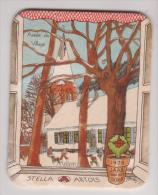 Stella Artois Belgien 1978 Jaar Van Het Dorp , Annee Du Village - Mullem - Bierdeckel