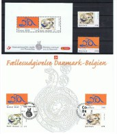 België 2006 Gemeenschappelijke Uitgifte Denemarken Alechinsky Belgica Kopenhagen - Cartoline Commemorative