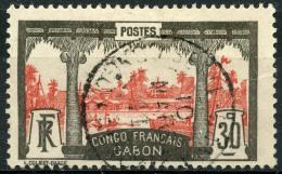 Gabon (1910) N 40 (o) - Gabon (1886-1936)