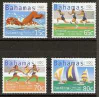 Bahamas  - 2000 Olympics set of 4 MNH **   SG 1227-30 Sc 985-8